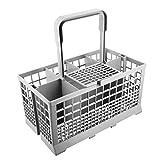 Universal, para meter los cubiertos en el lavavajillas, para Hotpoint/Bosch/Siemens/Neff/SMEG, color gris