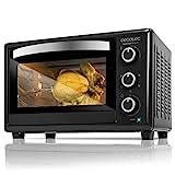 Cecotec Bake&Toast 650 Gyro - Horno Sobremesa, capacidad de 30 litros, 1500 W, 5 Modos, Temperatura hasta 230ºC y Tiempo hasta 60 Minutos
