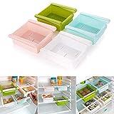Betrothales Estante De Almacenamiento Refrigerador De Cocina De Plástico Refrigerador Estante De Almacenamiento Congelador Soporte De Estante Organización De Cocina Venta Inicio Uso Diario Producto