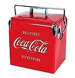 Koolatron Unisex's CCVIC-13 - Baúl portátil para 18 latas con abrebotellas (14 cuartos/13 litros), Color Rojo