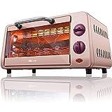 Mini Hornos Cocina Mini Horno Tostador 10L Mini Horno Temperatura Ajustable 100-250 ℃ Y Temporizador De 30 Minutos Hornos Eléctricos Para Hornear Domésticos 800W