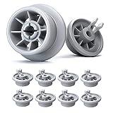 Ruedas lavavajillas de Plemont - ruedas de lavavajillas para muchos comunes lavavajillas de Bosch, Siemens, Neff, etcétera - ruedas bandeja lavavajillas (pack de 8)