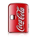 YICHEN Mini Refrigerador, Refrigerador De Mostrador, Refrigerador De Automóvil Coca-Cola, Caja De Calefacción Y Refrigeración para Estudiantes En El Hogar del Estudiante.