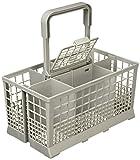 Paxanpax Universal, para meter los cubiertos en el lavavajillas, para Hotpoint/Bosch/Siemens/Neff/SMEG, color gris