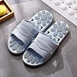 RSVT Zapatos de Playa Piscina Unisex Adulto,Zapatillas caseras de Masaje de pies, Nevera Antideslizante para bañarse en el baño-Azul Cielo para Mujer_36-37,Zapatillas de Ducha para el hogar