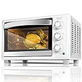 Cecotec Horno Sobremesa Bake&Toast 690 Gyro. Capacidad de 30 litros, 1500 W, 5 Modos, Temperatura hasta 230ºC y Tiempo hasta 60 Minutos, Incluye Accesorio Rustidor con pinzas