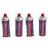 ANGOPE Gas de 227Gr Pack, Multicolor, 4 x Cartucho