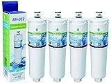 4x AquaHouse AH-352 filtro de agua compatibles para Bosch/Neff/Siemens nevera 3M CS-52, CS-452, CS-51, 640565, 5586605