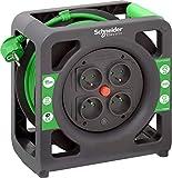 Schneider Electric SC5IMT33139 - Enrollador compacto (15 m, HO5VVF 3G1,5 IP20, color verde