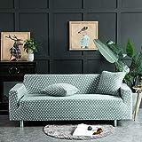 ASCV Fundas para sofá, Todo Incluido, seccional, en Forma de L, Funda de sofá elástica, Funda de sofá Completa para Silla de Sala de Estar/sofá de Dos plazas/sofá A2 2 plazas