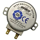 ZkeeShop TYJ508A7 Horno microondas TYJ50-8A7 4W 5/6 RPM 11mm Motor sincrónico Spindle Turntable Motor