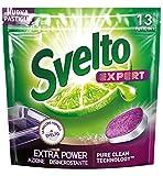 SVELTO Tabs Lavavajillas Experto Power 13 Piezas Producto Detergente