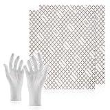 C-lean House Extractor de 2 piezas Filtro con indicador de saturación Filtro plano Confort - Paquete con guantes intercambiables Corte individual, 47 x 57 cm