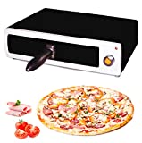MovilCom - Horno para pizza electrico | Horno electrico de sobremesa | Mini horno pizza | Pizza maker