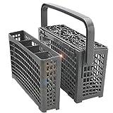 Cesta de repuesto universal para lavavajillas – Cesta para cubiertos – compatible con Bosch, Maytag, Kenmore, Whirlpool, KitchenAid, LG, Samsung, Frigidaire, GE