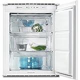 Electrolux–Congelador bajo encimera empotrable CI 1001- Acabado de color blanco - Medidas 54cm