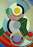 Exposición de Le Corbusier Pintura en lienzo Museo de arte francés Grabado Cartel cubista Arte mural moderno de mediados de siglo Pintura decorativa sin marco en lienzo A151 60x80cm