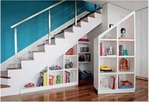 Estantes Bajo Para Escaleras