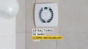 Extractores Bano Sin Salida Exterior