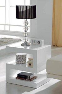 Muebles Auxiliares Blancas Lacada