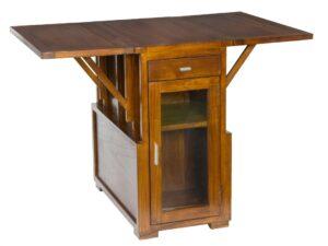 Muebles Auxiliares De Madera Plegables