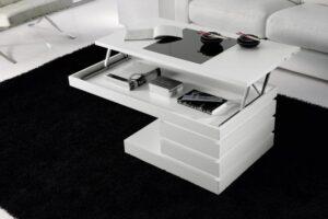 Muebles De Centro Blancas Elevable