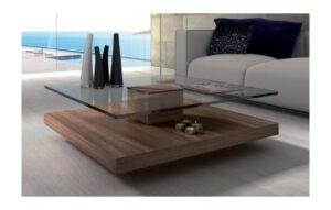Muebles De Centro Con De Cristal