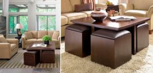 Muebles De Centro Con Puff