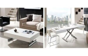 Muebles De Centro Convertible En Comedor