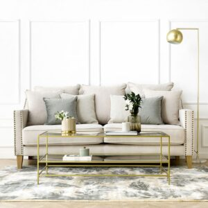 Muebles De Centro Dorada