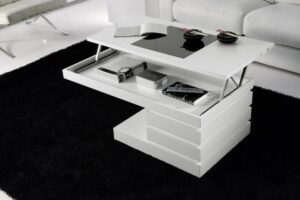 Muebles De Centro Elevable Blancas