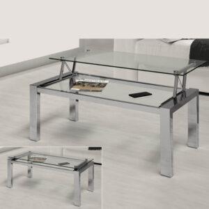 Muebles De Centro Elevable De Cristal
