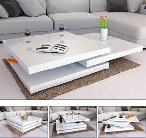 Muebles De Centro Lacada Blancas