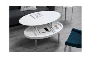 Muebles De Centro Ovalada