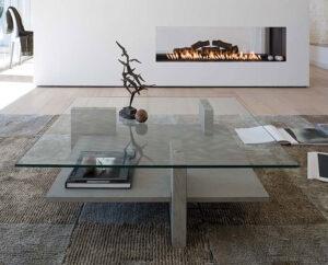 Muebles De Centro Salon De Cristal