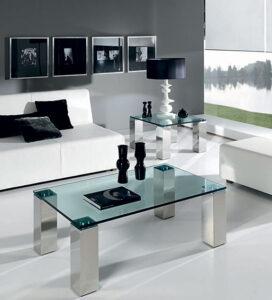 Muebles De Cristal De Centro